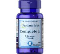 Puritan's Pride Complete B (Vitamin B Complex) 100 caplets