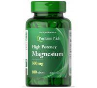 Puritan's Pride Magnesium 500 mg 100 caplets