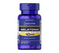 Puritan's Pride Melatonin 10 mg 30 капс