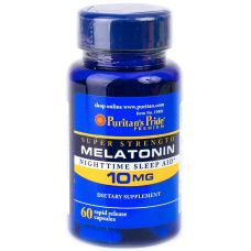 Puritan's Pride Melatonin 10 mg 60 капс