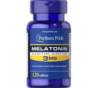 Puritan's Pride Melatonin 3 mg 120 таб
