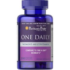 Puritan's Pride Women's One Daily Multivitamins 200 капc