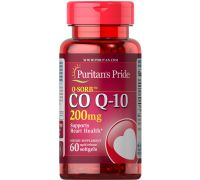 Puritan's Pride Q-SORB Co Q-10 200 mg 60 капс