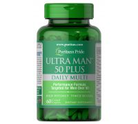 Puritan's Pride Ultra Man 50 Plus 60 tab