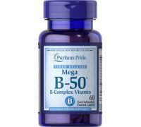 Puritan's Pride Vitamin B-50 Complex Timed Release 60 Caplets