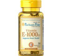 Puritan's Pride Vitamin E-1000 IU 50 caps