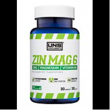 Стимулятор тестостерона UNS ZinMag 6 30 tab
