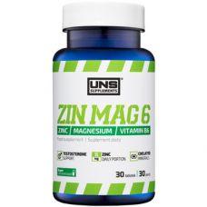 Стимулятор тестостерона UNS ZinMag B6 30 tab