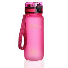 Бутылка для воды UZspace Colorful Frosted 650 мл 3037 Розовая
