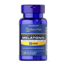 Puritan's Pride Melatonin 5 mg 120 таб