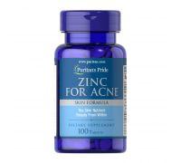 Puritan's Pride Zinc for Acne 100 tab