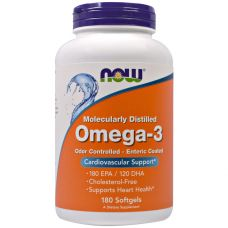 NOW Omega-3 180 капс