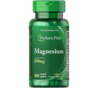 Puritan's Pride Magnesium 250 mg 100 caplets