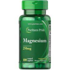 Витамины Puritan's Pride Magnesium 250 mg 100 caplets
