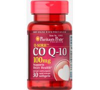 Puritan's Pride Q-SORB Co Q-10 100 mg 30 капсул