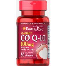 Коензим Q-10 Q-SORB Puritan's Pride 100 mg 30 капсул