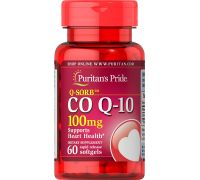 Puritan's Pride Q-SORB Co Q-10 100 mg 60 капсул