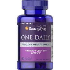 Витамины Puritan's Pride Women's One Daily Multivitamins 100 капсул