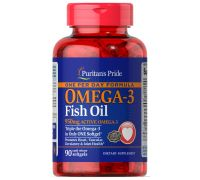 Puritan's Pride One Per Day Omega-3 Fish Oil 1360 mg 90 softgels