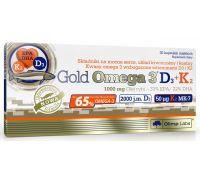Olimp Gold Omega-3 D3+K2 30 caps