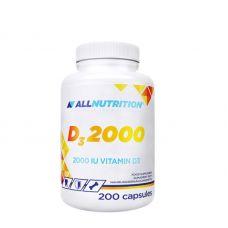 Витамины AllNutrition VIT D3 2000 200 caps